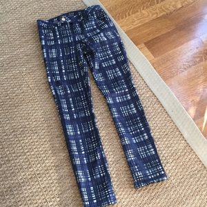 Tory Burch Patterned Jeans